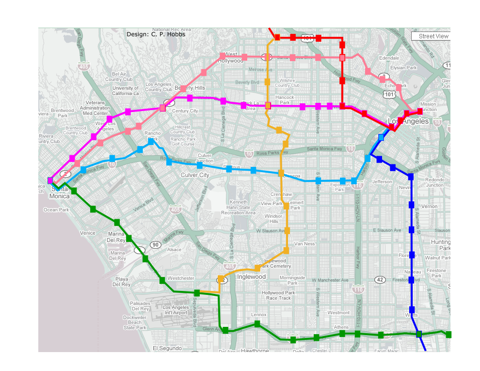 Red Line Los Angeles Subway Map.Metro Pink Line The Transit Coalition